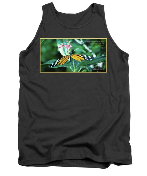 Tank Top featuring the photograph Spread Your Wings by Deborah Klubertanz