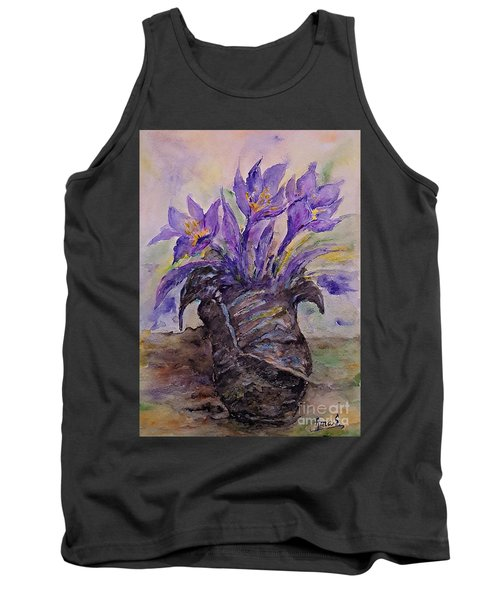 Spring In Van Gogh Shoes Tank Top