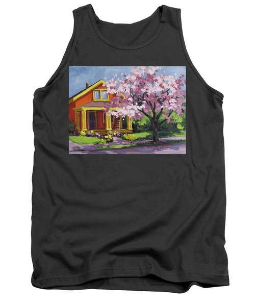 Spring At Last Tank Top by Karen Ilari