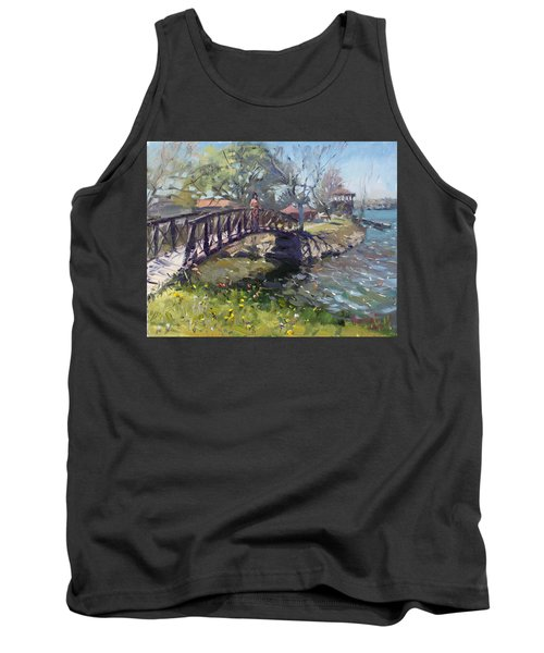 Spring At Niawanda Park Tank Top