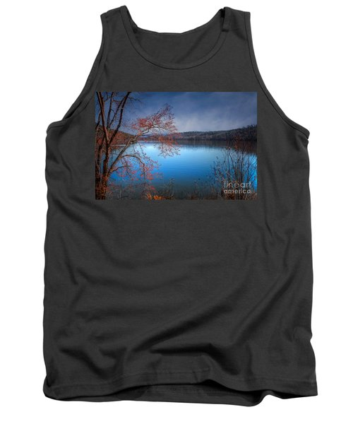 Spring At The Lake Tank Top