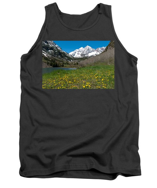 Spring At The Maroon Bells Tank Top