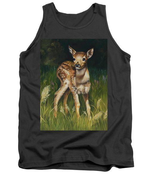 Spring Baby Fawn Tank Top