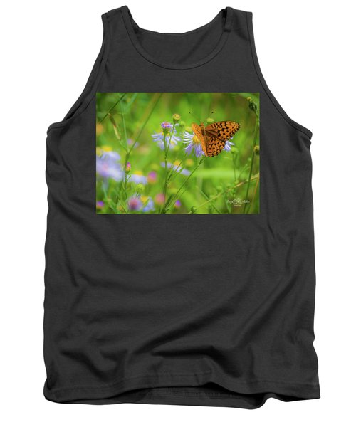 Spring Butterfly Tank Top