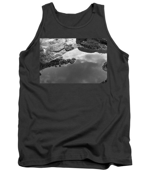 Spring Clouds Puddle Reflection Tank Top