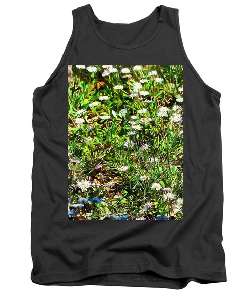 Spring Daisy Trails Tank Top