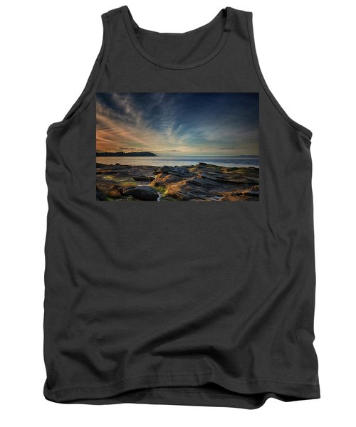 Spring Evening At Madrona Tank Top by Randy Hall