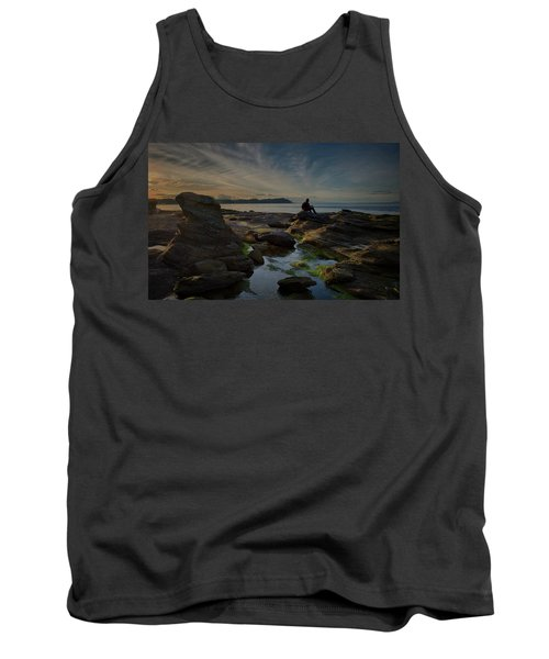 Spring Evening Tank Top by Randy Hall