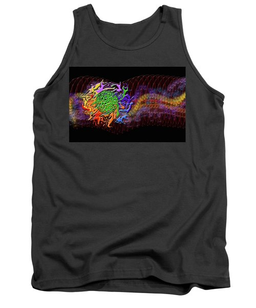 Spring Explodes Nighttime Tank Top