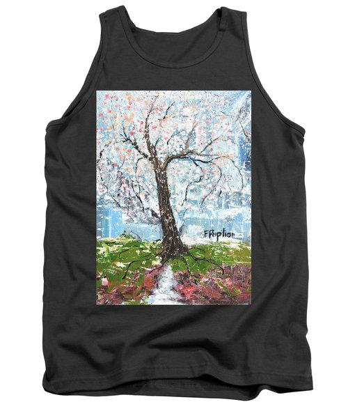 Spring Expression Tank Top