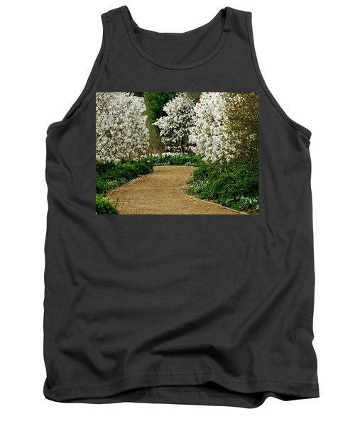 Spring Flowering Trees Wall Art Tank Top