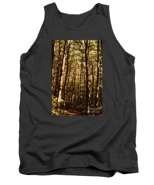 Tank Top featuring the photograph Spring Forest by Jean Bernard Roussilhe
