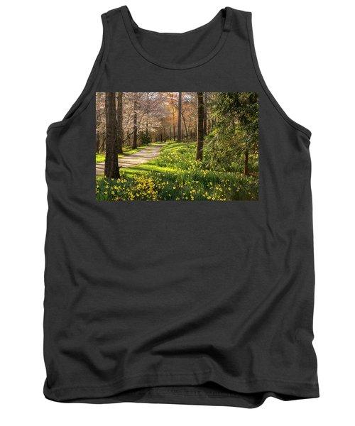 Spring Garden Path Tank Top