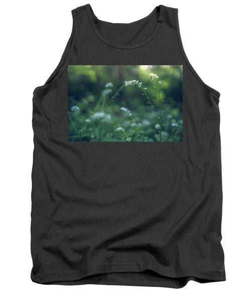 Spring Garden Scene #1 Tank Top