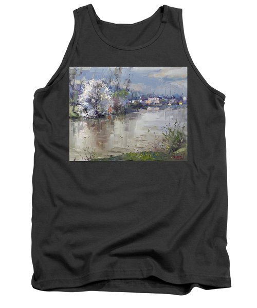 Spring In Hyde Park Tank Top by Ylli Haruni