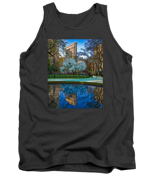 Spring In Madison Square Park Tank Top by Chris Lord