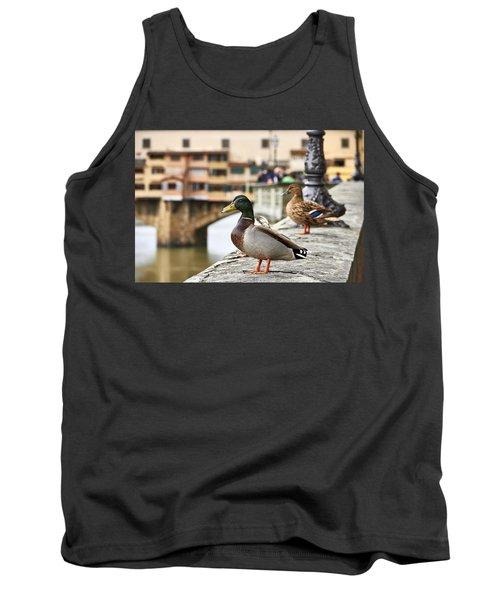 Spring Love Ducks Tank Top