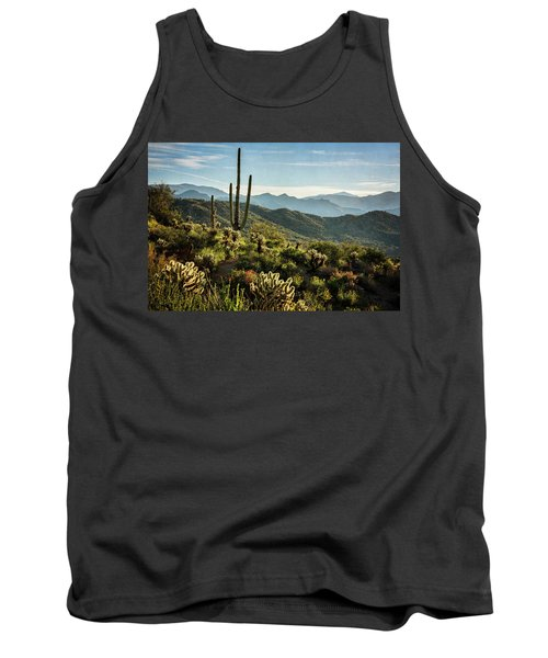 Tank Top featuring the photograph Spring Morning In The Sonoran  by Saija Lehtonen
