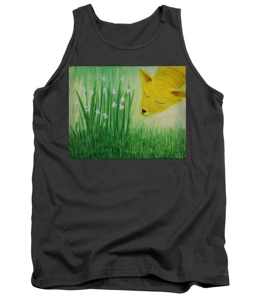 Spring Morning Tank Top by Tone Aanderaa