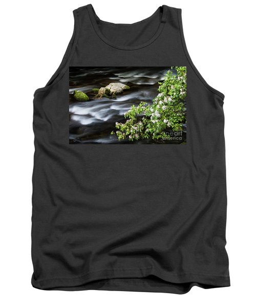Tank Top featuring the photograph Spring On The Oconaluftee River - D009923 by Daniel Dempster