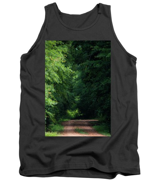 Tank Top featuring the photograph Spring Path Of Light by Shelby Young