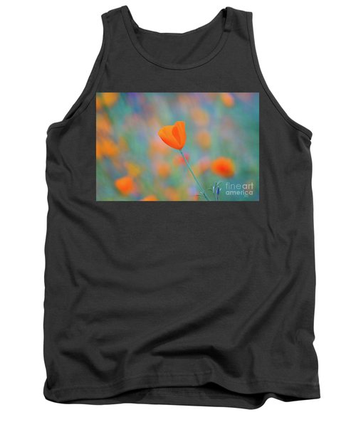 Spring Poppy Tank Top