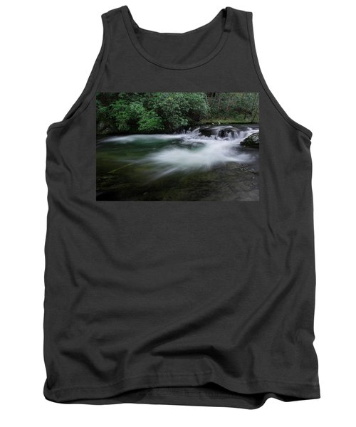 Tank Top featuring the photograph Spring River by Mike Eingle