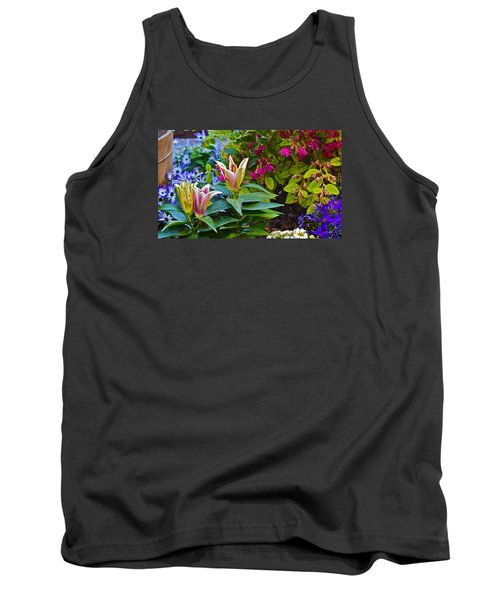 Spring Show 15 Lilies Tank Top