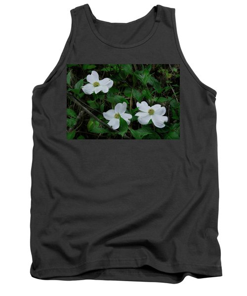 Tank Top featuring the photograph Spring Time Dogwood by Mike Eingle