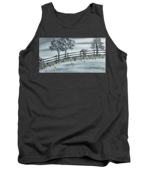 Tank Top featuring the painting Spring Time by Kenneth Clarke