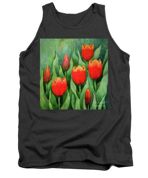 Spring Tulips Tank Top