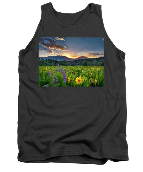 Spring's Delight Tank Top by Leland D Howard
