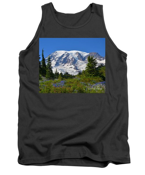 Springtime At Paradise 1 Tank Top