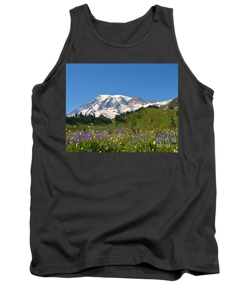 Springtime At Paradise 2 Tank Top