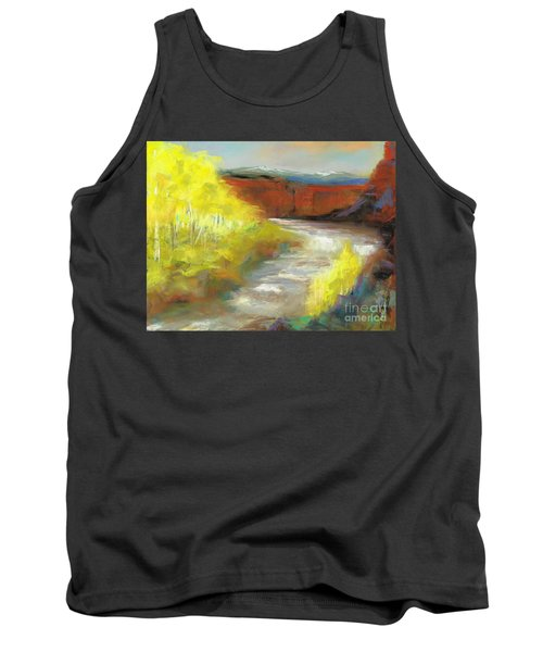 Springtime In The Rockies Tank Top by Frances Marino