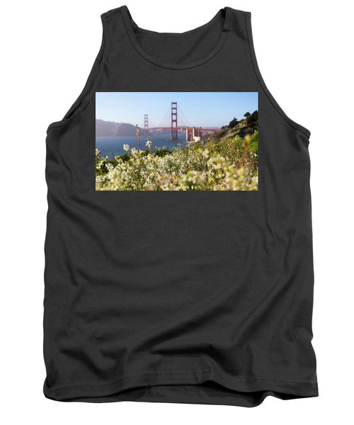 Tank Top featuring the photograph Springtime On The Bay by Everet Regal