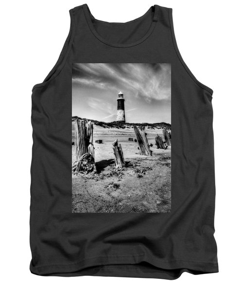 Spurn Point Lighthouse And Groynes Tank Top