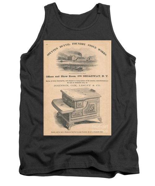 Tank Top featuring the photograph Spuyten Duyvil Stoveworks  by Cole Thompson