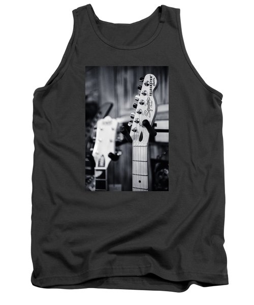 Squier Telecaster Tank Top by Andy Crawford