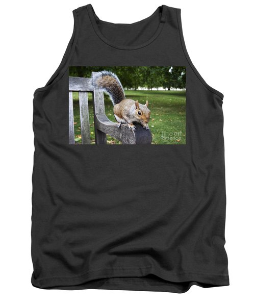 Squirrel Bench Tank Top