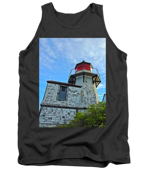 Squirrel Point Lighthouse Tank Top