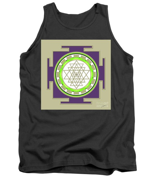 Sri Yantra Of Prosperity Tank Top