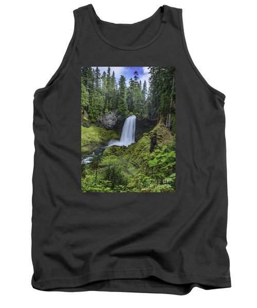 Sahalie Falls,oregon Tank Top by Nancy Marie Ricketts
