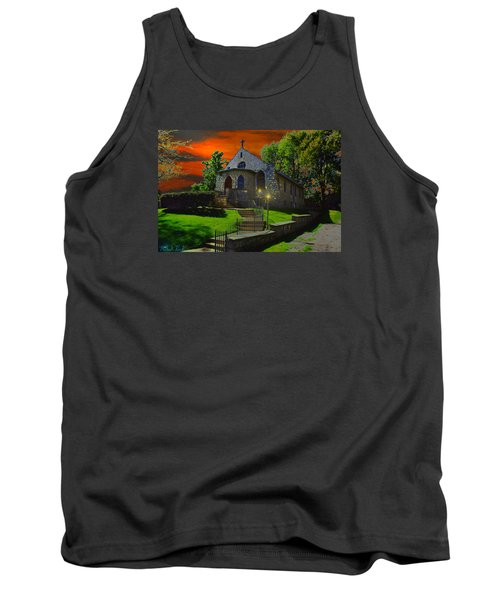 Tank Top featuring the photograph St. Anne's Chapel by Michael Rucker
