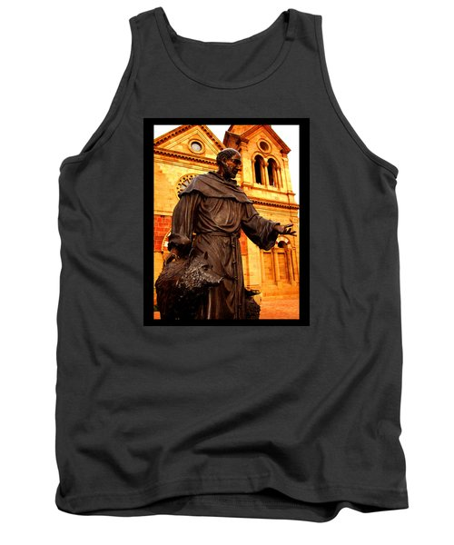 Tank Top featuring the photograph Cathedral Basilica Of St. Francis Of Assisi by Susanne Still