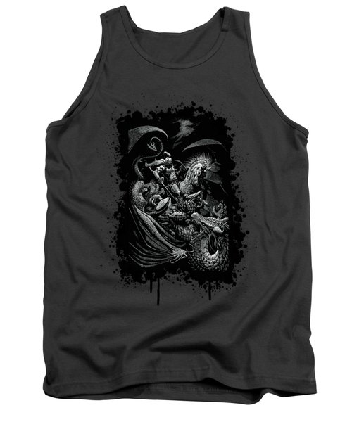 St. George And Dragon T-shirt Tank Top