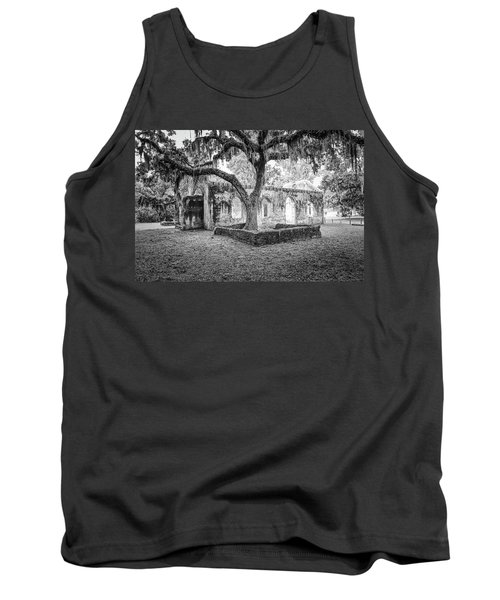St. Helena Tabby Church Tank Top