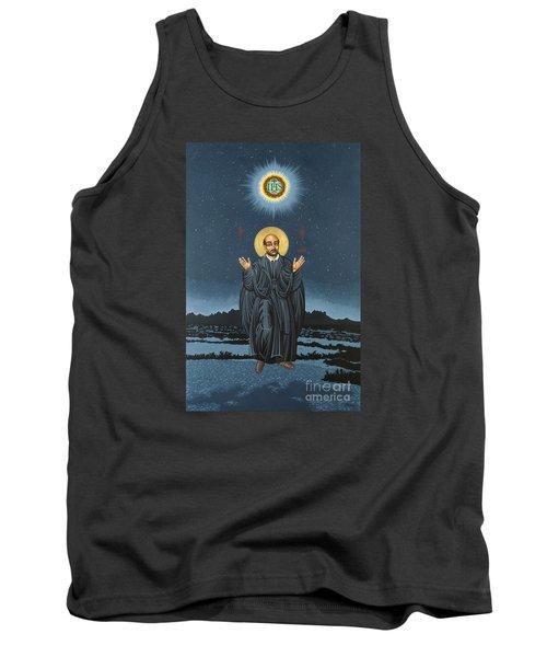 St. Ignatius In Prayer Beneath The Stars 137 Tank Top by William Hart McNichols