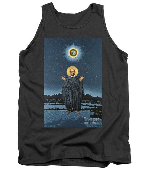 St. Ignatius In Prayer Beneath The Stars 137 Tank Top