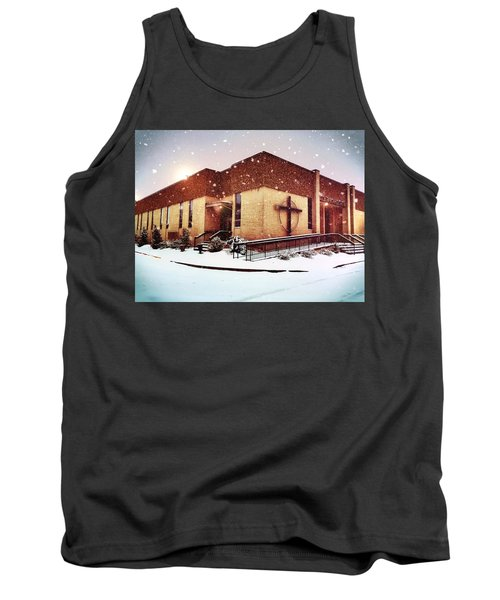 St. Isaac Jogues In The Snow Tank Top